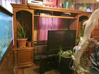 """Entertainment center up to 75"""" TV size"""