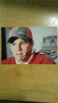 Jake Paterson 4x6 signed photo Winnipeg, R3P 2T6