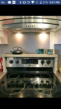 stainless steel 4-burner gas range oven Airdrie, T4A 0G6