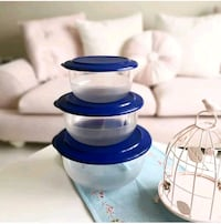 Tupperware kristal set