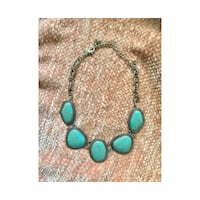Turquoise and silver necklace Boca Raton, 33431