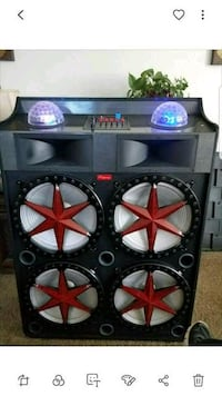 black and red Kicker subwoofer Bakersfield, 93313