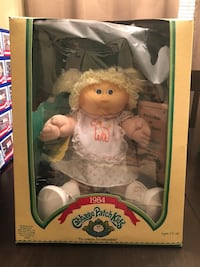 Vintage 1984 cabbage patch doll Columbia, 29229