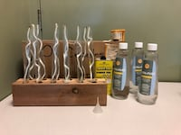 11 glass oil candles Minneapolis, 55408
