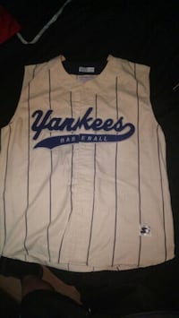 white and blue yankees  jersey 1961 km