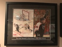 Philadelphia Flyers Keith Primeau Great Moments Lithograph Mountville, 17554