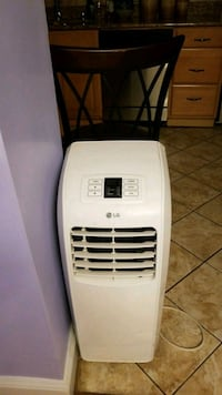 white LG portable air cooler Washington, 20011