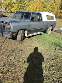 1993 dodge diesel box mint 1500 tailgate 350 parting out truck