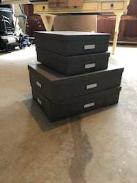 4 boxes 2 small 2 big  Lawrenceville, 30043