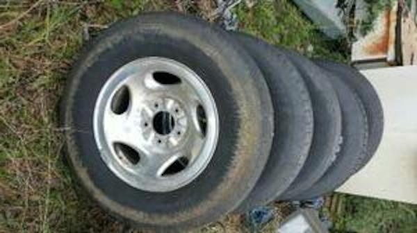 1997 Ford F150 Factory Rims Tires Set Of 5
