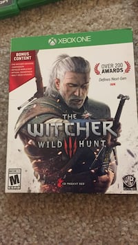 The witcher wild hunt Xbox one game Kenai, 99611