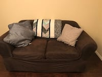 Loveseat & suede loveseat cover Siloam Springs
