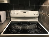 white and black induction range oven Winnipeg, R3R 0G3
