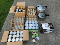 Lot Canning/Mason Jars 3 Pressure Cookers, 21 quar Smyrna, 37167