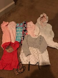 6 month girl clothes