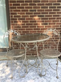 Bistro set w folding glass table! Alexandria, 22304