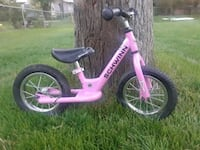 toddler's pink and white bicycle Loveland, 80537