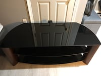 """65"""" Tv Stand w/Black Glass Shelves District Heights, 20747"""