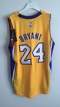 yellow and purple Los Angeles Lakers Kobe Bryant 24 basketball jersey Calgary, T2Y 2E5