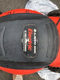 "craftsman electric 18"" lawn mower Mc Lean, 22102"
