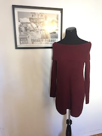 Red sweater Dress  Toronto, M5T 1B7