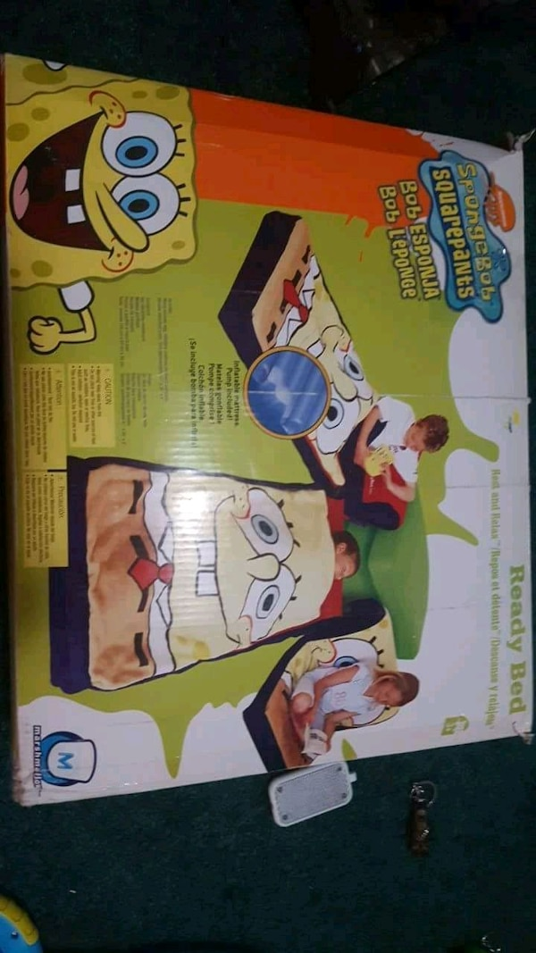 Spongebob kids ready bed