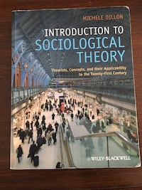 Introduction to Sociological Theory  Oakville, L6H 6R8