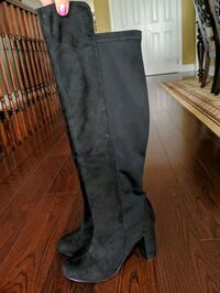 Over the knee heeled boots. Mississauga