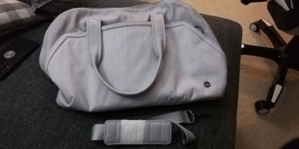 Lululemon Grey Bag 2c3bf803-07b9-4fd6-b842-2ab1a61898e8
