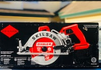 SKILSAW 15 Amp Corded Electric 7-1/4 in. Magnesium Worm Drive Circular Saw with 24-Tooth Carbide Tipped Diablo Blade Model #: SPT77WM-22 Concord, 94521