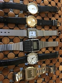 6 watches of different makes...... call me if interested  [TL_HIDDEN]  Long Beach, 90807