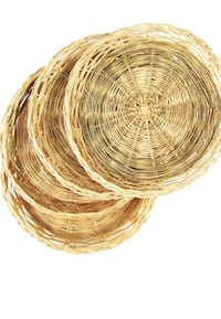 Wicker Rattan Bamboo Paper Plate Holders Westminster, 21157