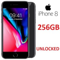 Apple iPhone 8, Unlocked 256GB Toronto