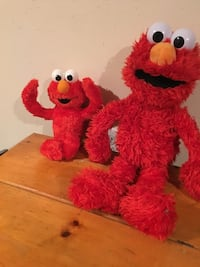 Talking Elmo and Elmo Doll - excellent condition ! Warwick, 02888