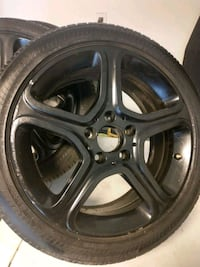 Mercedes-Benz wheels with tires