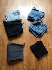 Ladies large pants/jeans - $1 each or take it all for $5! Oshawa, L1K 1W8