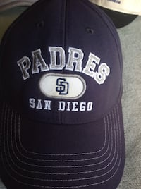 Navy and silver embroidery sd San Diego Padres curved bill hat  Santa Clarita, 91350