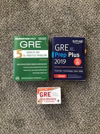 GRE General Test Study Materials 28 km