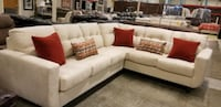 Off white sectional sofa and loveseat  Charlotte, 28273