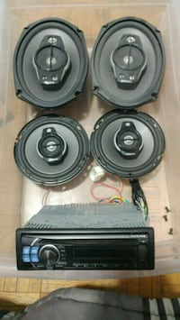 Selling complete car audio system Toronto, M2R 1X8