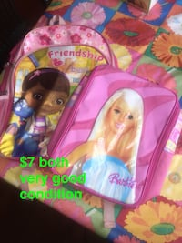 pink and purple Disney Frozen backpack Troy, 12182