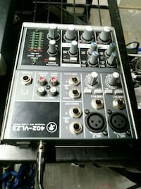 black and gray audio mixer Edmonton, T6R 0G3
