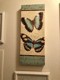 Beautiful Butterfly Art Canvas Los Angeles, 91406