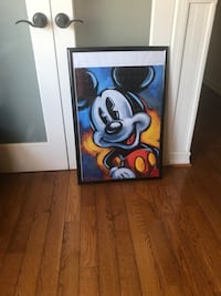 Mickey Mouse puzzle painting  Lake Elsinore, 92530