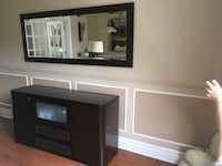 black wooden dresser with mirror Candiac, J5R 6R5