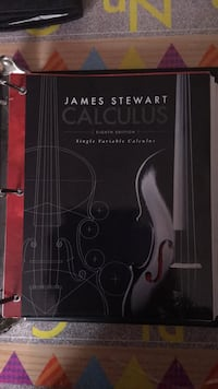 James Stewart  Calculus Eight Edition Single Variable Calculus Chicago, 60623