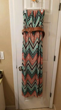 Sleeveless dress with belt  Cape Coral, 33990