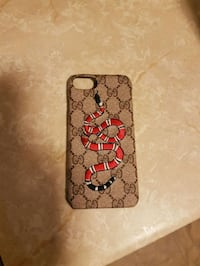Gucci iPhone case, used.