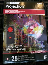 25 color combo Kaleidoscope projection by Gemmy Fairfax