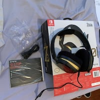 The Legend of Zelda: Breath of the Wild A10 Headset-BLAC